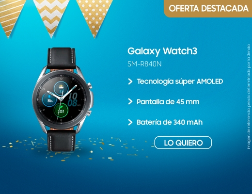 Galaxy Watch3 45mm, reloges inteligentes, smart watch, galaxy watch, samsung galaxy watch, galaxy watch3, watch 3, samsung galaxy watch 3, 45 mm, samsung, samsun, SM-R840N